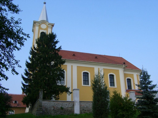 Római katolikus templom, Sitke