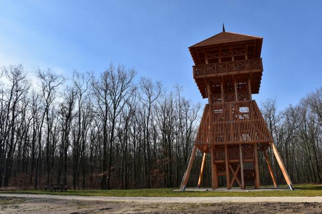 Scherg Lőrinc-kilátó és Farkas-erdei tanösvény